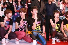 SHINee - Onew, Key, Minho & Taemin <3