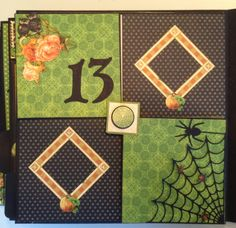 annes papercreations: Part 11 How to make an 8 x 8 mini album with stand from start to finish