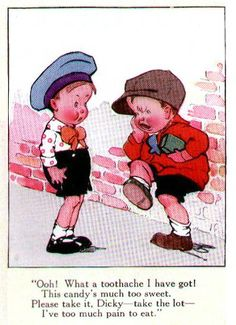 Charles Twelvetrees-the toothache