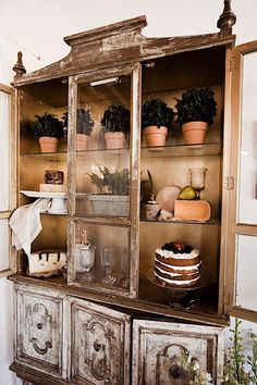 Weathered Armoire