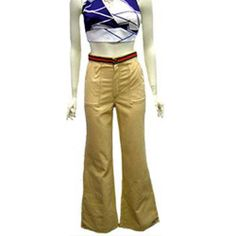 1970s Vintage Bell Bottom Pants Dead Stock NEW