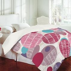 DENY Designs Home Accessories | Rachael Taylor Textured Geo 1 Duvet Cover