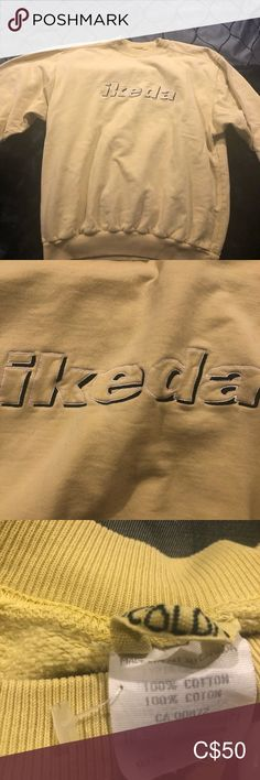 Vintage IKEDA yellow crew neck sweater Super trendy yellow IKEDA sweater looks great great dressed up or down ikeda Sweaters Crew & Scoop Necks Plus Fashion, Fashion Tips, Fashion Trends, Looks Great, Khaki Pants, Scoop Neck, Crew Neck, Dress Up, Sweaters For Women
