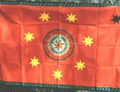 Native American Flags - The Cherokee Nation. I like this. I never have seen the Cherokee Nation flag. My great grandmother was Cherokee.