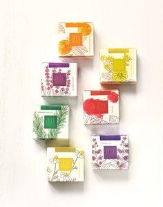 Un #packaging de #jabones naturales muy bonito || #aromaMediterranea #savon #soaps #diseño #naturaleza