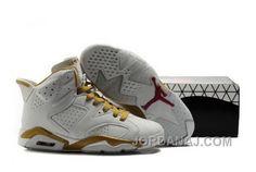 http://www.jordanaj.com/uk-on-sale-air-jordan-vi-6-retro-mens-shoes-online-shopping-white-gold.html UK ON SALE AIR JORDAN VI 6 RETRO MENS SHOES ONLINE SHOPPING WHITE GOLD Only 89.67€ , Free Shipping!