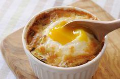春キャベツの巣ごもり卵  https://recipe.yamasa.com/recipes/1303