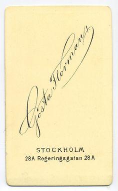 Gösta Florman, Stockholm