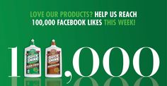 Help us reach 100,000 likes this week! We're so happy that, for over 50 years, our family business has been helping families all across America bring beauty to their homes. Let us know you're one of those families by liking Quick Shine® on Facebook. https://www.facebook.com/QuickShineFloorFinish