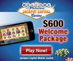 Jackpot Capital Mobile casino and a chance to win a share of $100,000