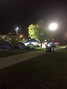 My last pin is a picture of tent city. I think tent city is awesome. I love the people at it. I love why they're here. I love everything about it. I think it's very disrespectful that people that attend school here laugh at the people that camp out for basketball. Without basketball this university would be very very different. Also I love tent city because my parents first met there back when they were in school camping out for tickets. So I wouldn't be here without it.