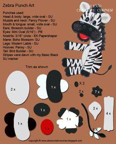Alex's Creative Corner: Birthday Zebra