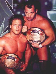 ECW Tag Team Champions Chris Benoit and Dean Malenko