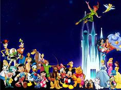Disney Autograph Pages