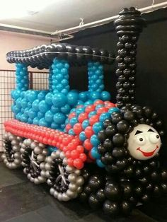 Ballooned train
