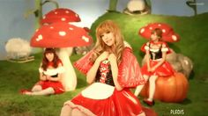 """DAY 13: """"Aing"""", Orange Caramel. It's my guilty pleasure because everyone else in my family hates this song but i love through the teasing. its too cute for them to handle i guess :3 but i love orange Caramel!"""