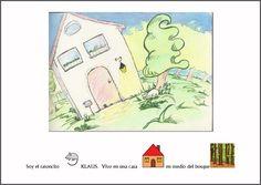 MATERIALES - Cuentos ilustrados.    Cuentos ilustrados y realizados con pictogramas de ARASAAC e ilustrados por Fátima Collado.    http://arasaac.org/materiales.php?id_material=620