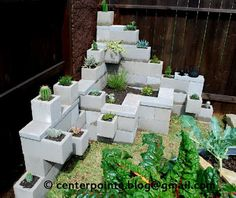 Great step by step Centerpointe Communicator: Cinder block garden: design, build, and ant control