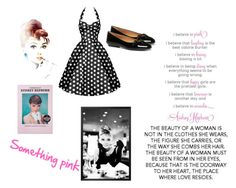 """Audrey Hepburn"" by therosalie ❤ liked on Polyvore"