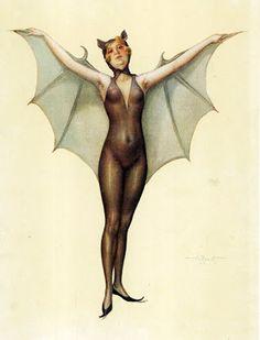 Domythic Bliss: Going Batty!!