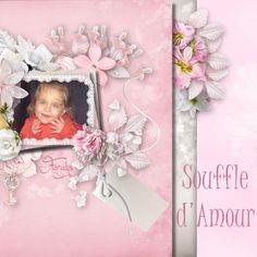 """Kit """"Souffle d'amour"""" Photo & WA perso"""