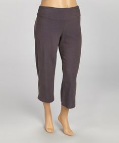 Take a look at this Mercury Organic Loose Capri Pants - Plus by Avani on #zulily today!