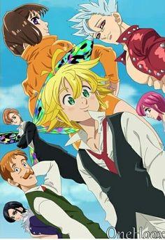 Seven Deadly Sins - nanatsu no taizai - animes - wallpapers iphone - wallpapers android - papeis de parede - nostalgia - manga - desenhos - naruto - dbz- full metal alchemist -! Anime Angel, Anime Kiss, Anime Demon, Seven Deadly Sins Anime, 7 Deadly Sins, Anime Naruto, Otaku Anime, Manga Anime, Chibi Tokyo Ghoul