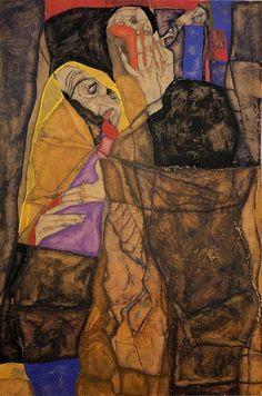Egon Schiele (The Blind, 1913)