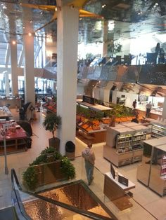 Tsvetnoy Central Market in Moscow