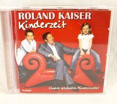 Roland Kaiser Kinderzeit cd German Import Unsere Schonsten Kinderlieder Kids  #GermanyAustria