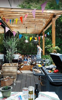 nakashouの庭 – 大阪でエクステリア・外構・造園工事などを手掛ける中商です。 Outdoor Spaces, Outdoor Living, Outdoor Decor, Traditional Japanese House, Cafe Design, Pergola, New Homes, Home And Garden, Backyard