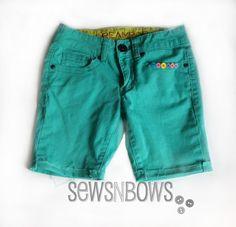 Summer Denim Refashion Tutorial | SewsNBows