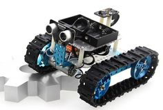 Makeblock Starter Robot Kit-Blue(Bluetooth Version) - MediaWinkel.eu