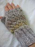 Marble Lace Fingerless Mitts
