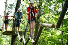 27 Element Ropes Course at Zip Gatlinburg