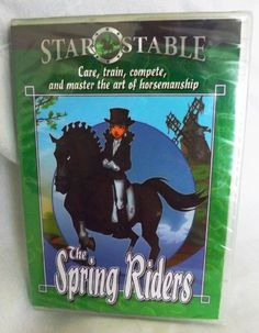 Star Stable The Spring Riders Learn Horsemanship Skills NEW SEALED PC Game HTF!!