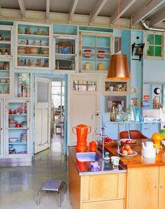 i love nigella's new kitchen 1 | houses | pinterest | cupboard