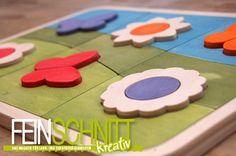 Ein Puzzle für die Kleinsten. So einfach können Sie natürilches Kinderspielzeug selbst erstellen. Folgen Sie der Sägeanleitung in der FEINSCHNITTkreativ Ausgabe 10!