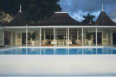 Ralph lauren's house i Round Hill Jamaica Jamaica House, Bahamas House, Round Hill Jamaica, Porches, Caribbean Homes, Pergola, Villa, Ralph Lauren, Beach Bungalows