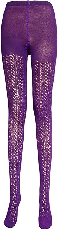 Girls 1 Pair Lilac Party//Occasion Opaque Tight with Glitter Butterflies