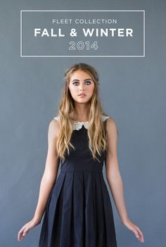 Dresses that are perfect for your bridesmaids, dress rehearsal, bridal shower, you name it. It's that versatile and adorable! Rehearsal Dress, Fall Winter 2014, Bridesmaid Dresses, Bridesmaids, Maid Of Honor, Bridal Shower, Collection, Black, Fashion