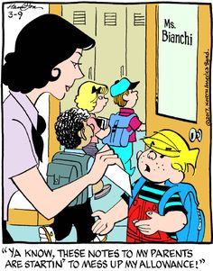 Dennis the Menace for 3/9/2017