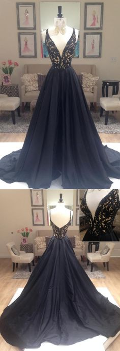 Elegant Prom Dresses, Black A-line Elegant Deep V-Neck Prom Dresses, Black Long Evening Party Dresses, Long Prom Dress,Prom Dresses Online Sweater Dresses UK Modest Formal Dresses, Open Back Prom Dresses, V Neck Prom Dresses, Elegant Prom Dresses, Black Prom Dresses, A Line Prom Dresses, Prom Dresses Online, Party Dresses, Prom Gowns