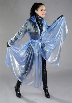 Clear Raincoat, Plastic Raincoat, Pvc Raincoat, Transparent Raincoat, Plastic Mac, Rain Cape, Rain Wear, Sexy, Latex