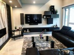 Check out this amazing design! The sitting room just off the kitchen at 23 Windermere, from and is a perfect example of how a properly installed TV can modernize and accentuate a whole room. Windermere, Home Theater, Interiors, Tv, Amazing, Modern, Kitchen, Check, Room