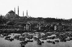Süleymaniye Cami -1962, İstanbul - Türkiye, Fotoğraf: Ara Güler