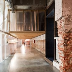 Factoría Cultural Matadero Madrid is a creative incubator in a disused Madrid warehouse
