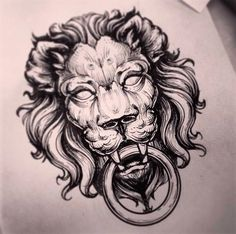 Lion by Alex Tabuns | Tattoo Artist – Saint Petersburgh, Russia