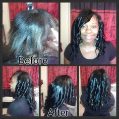 Full Sew In With Side Bang