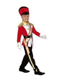El disfraz de soldado de plomo niño, incluye Sombrero, pantalón, camisa, fajín y cinturón en DisfracesMimo.com